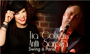 Link to event An Edith Piaf concert: Swing à Paris – Tia Cohen avec Antti Sarpila