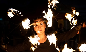 Link to event Polar Night Surprises: Fire performance - Show Belenos