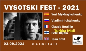 Link to event RESCHEDULED | VYSOTSKI FEST International 2021